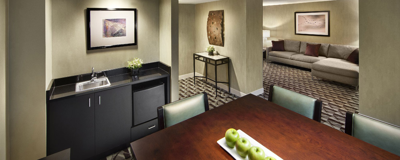 Hyatt Regency Schaumburg Executive Suite