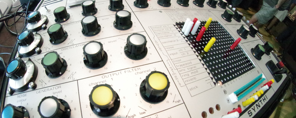 EMS SYNTHI ready for action