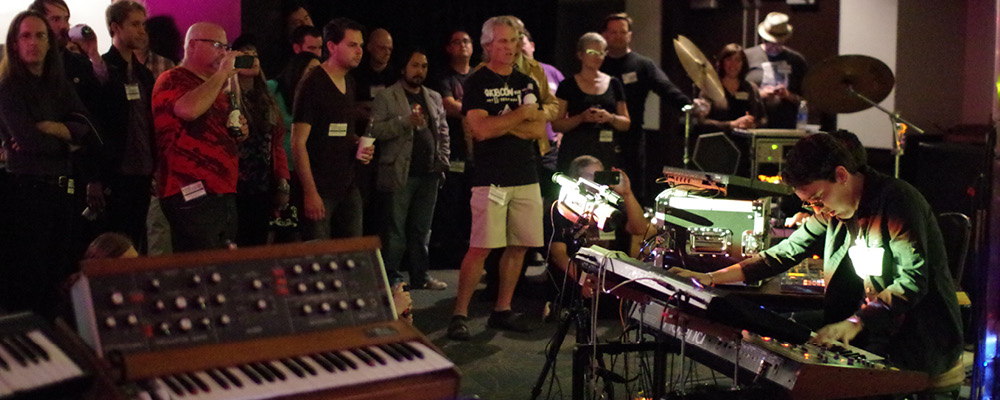 The Synth Freq Tearing Up Knobcon 2013