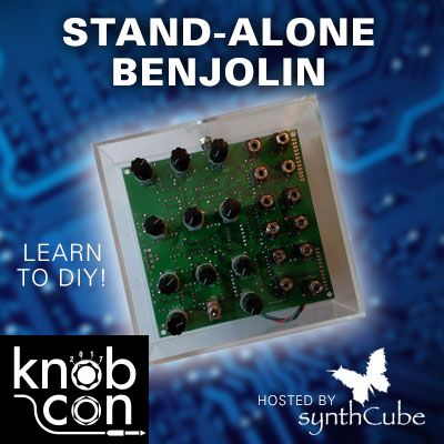 Build a Benjolin stand-alone synth at Knobcon!